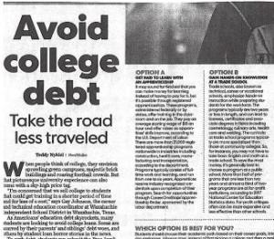 Avoid College Debt: Take the Road Less Traveled